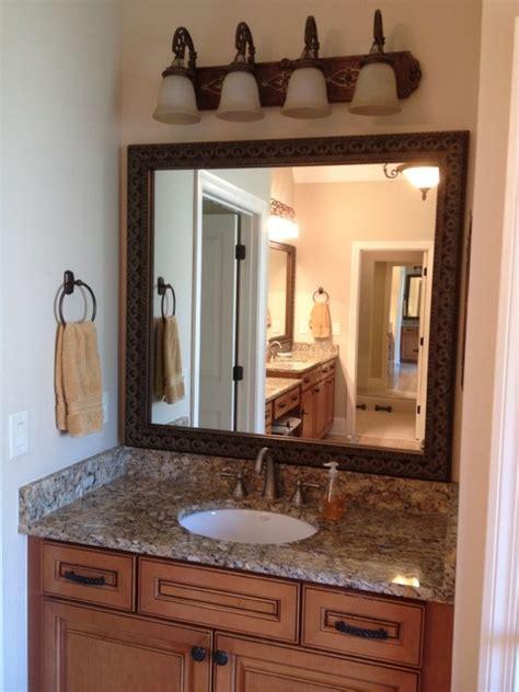 bathroom mirrors atlanta blackwater frame style traditional bathroom mirrors