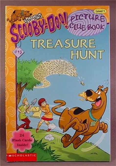 scooby doo picture clue books scooby doo treasure hunt paperback picture clue book 13