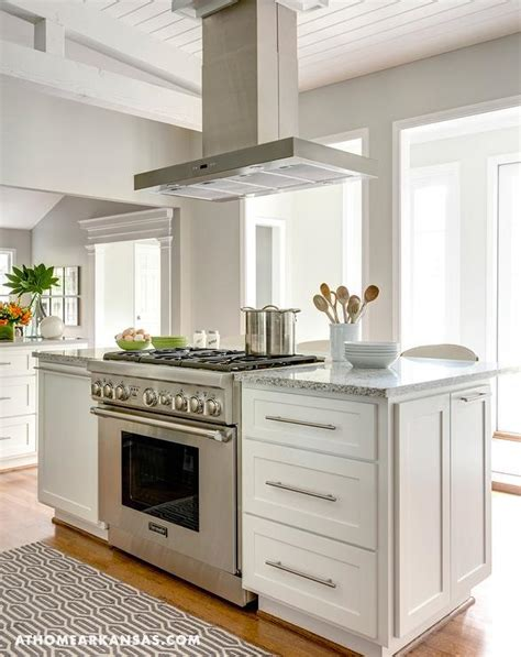 kitchen islands with stove kitchen island with freestanding stove transitional kitchen