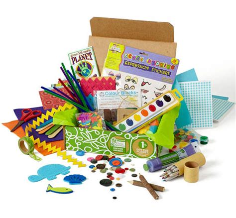 kid craft box creativity box gifts