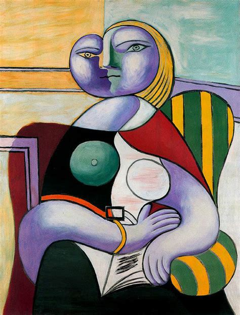 picasso paintings reading reading 1932 pablo picasso biblioklept