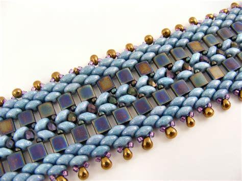 superduo bead patterns sweet freedom designs tila and superduo bracelet