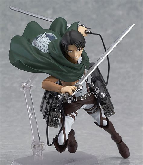 crunchyroll attack on titan crunchyroll quot attack on titan quot levi figma preorder launches