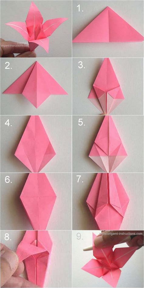 how to make easy origami flowers best 25 origami flowers ideas on paper