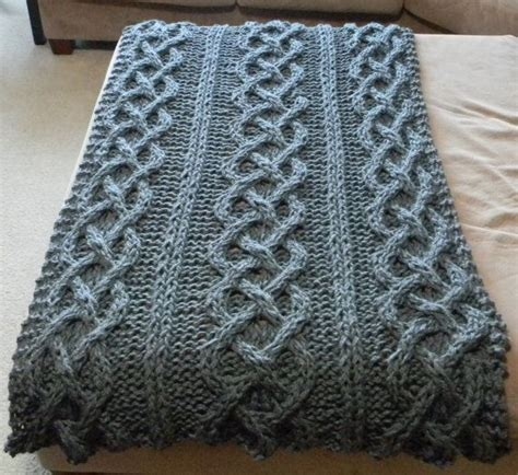 the big knit patterns big chunky cable knit blanket pattern only permission
