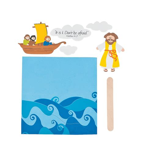 jesus walks on water craft for jesus walks on water craft kit novelty crafts crafts for
