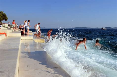 sea organ croatia zadar sea organ croatia gems
