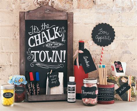 chalkboard craft paper craft ideas for