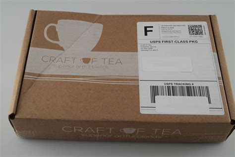 craft subscription box craft of tea discount giveaway 3 winners tea