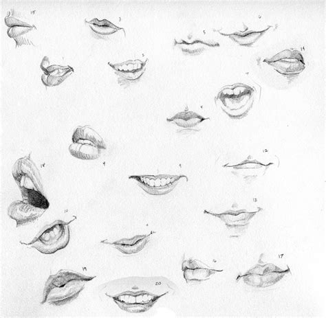 how to draw mouths ctrl paint draw 20 by dissonata on deviantart