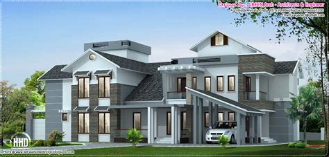 luxury house designs january 2013 kerala home design and floor plans
