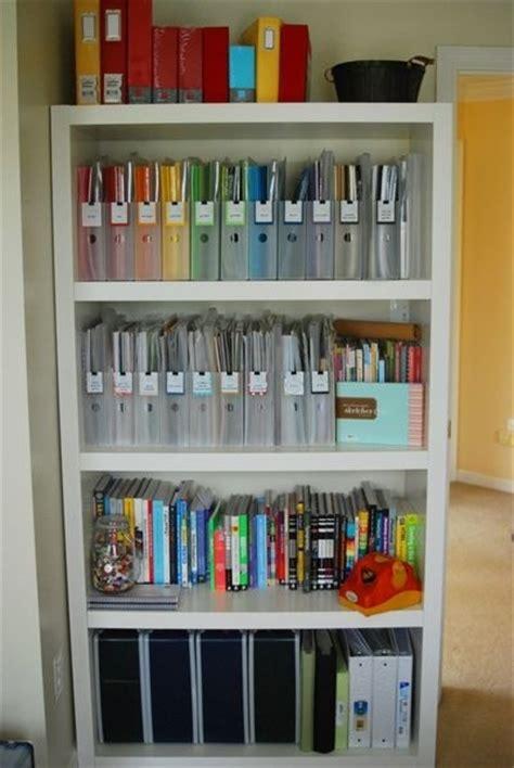 organizing craft paper organizing scrapbook paper great craft rooms
