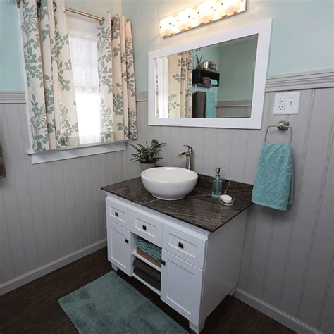 how to install a bathroom vanity and sink how to install a vessel sink