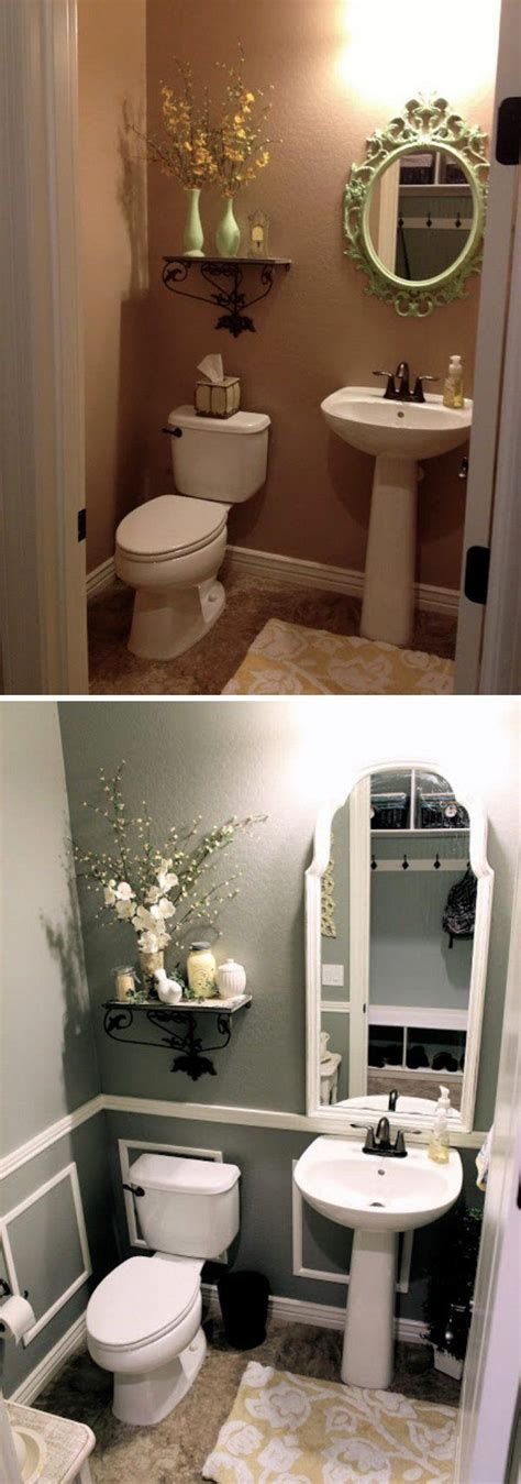 Diy Bathroom Makeover Ideas by The 25 Best Small Bathroom Makeovers Ideas On