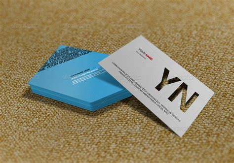 die cutters for card die cut business card mockup by artbees graphicriver