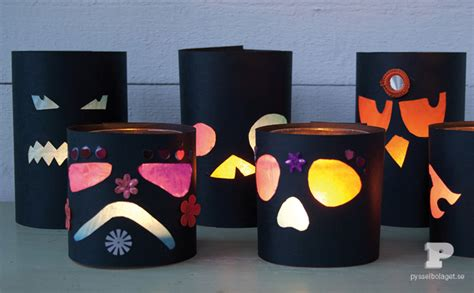 lantern craft for spooky lanterns family crafts
