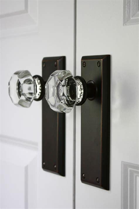 glass closet door knobs best 25 door knobs ideas on vintage