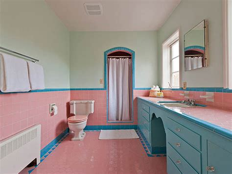 pink and blue bathroom accessories baby pink bathroom tiles home staging accessories 2014