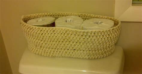 knit rope basket knit a bit crochet away crochet rope basket