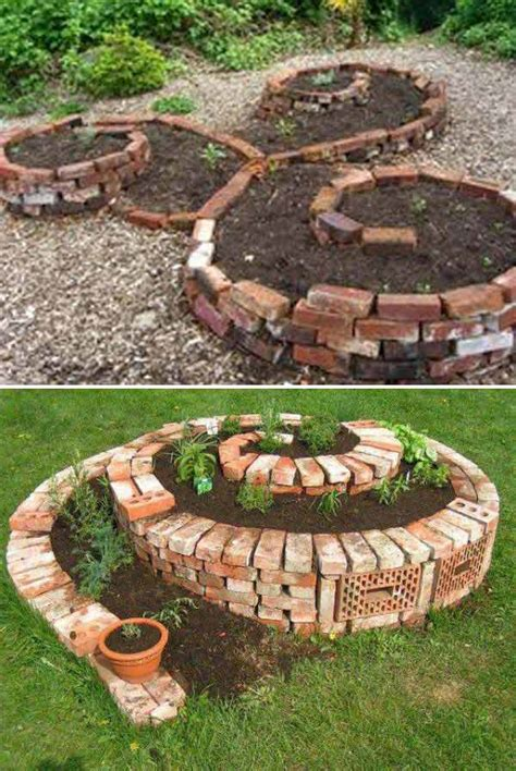 diy craft projects for the yard and garden diy ideas for creating cool garden or yard brick projects