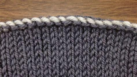 sewn bind knitting how to knit elizabeth zimmermann s sewn bind new