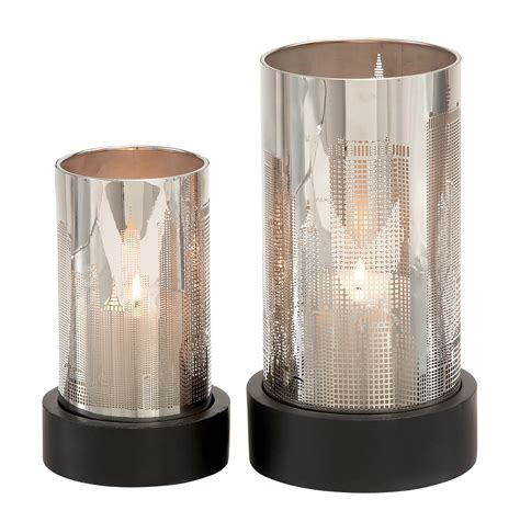 silver holders silver hurricane candle holders light fixtures design ideas