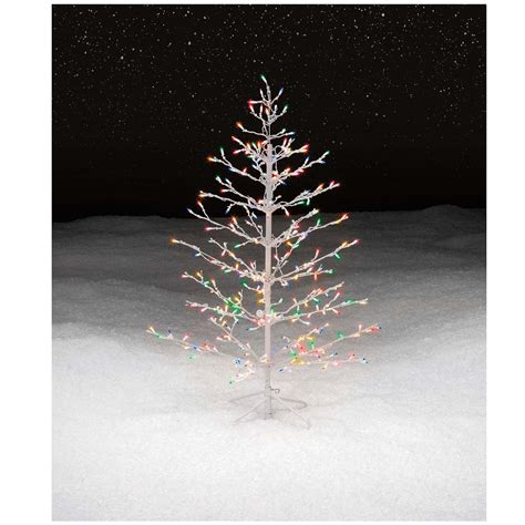 lighted spiral trees outdoor tree spiral lighted decor indoor outdoor