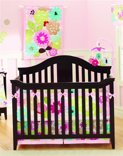 infant crib bedding summer infant petals crib bedding and accessories baby
