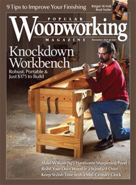 popular woodworking magazine index knockdown workbench popular woodworking magazine