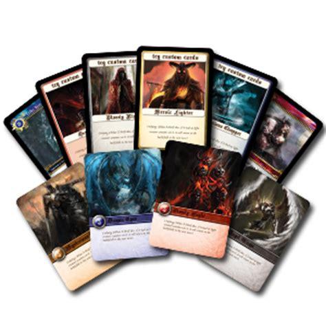 how to make custom trading cards custom cards pod printing