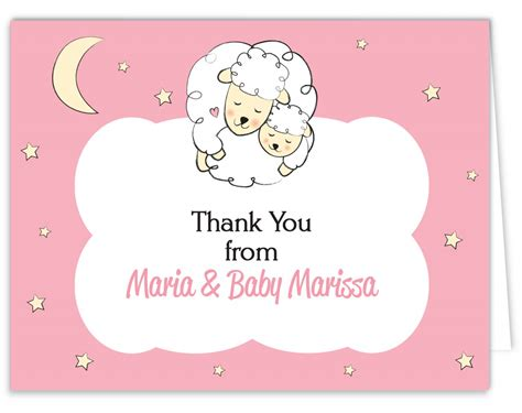make thank you cards free how to create free baby shower thank you cards target