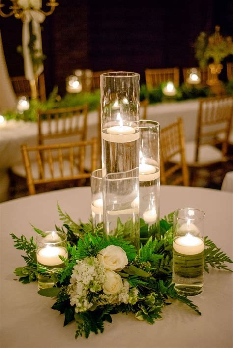 table centerpieces candles best 25 cylinder centerpieces ideas on candle