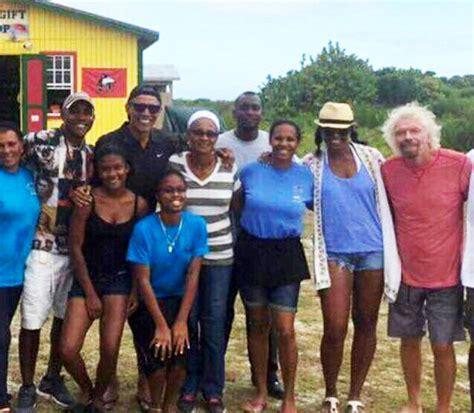 obama islands barack obama kite surfs with richard branson in new photos