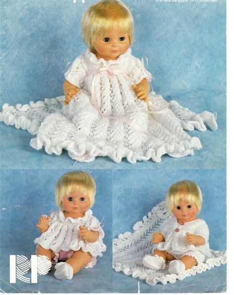 vintage dolls knitting patterns vintage doll clothes dk knitting pattern 99p ebay