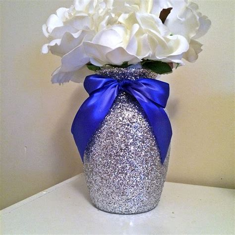 blue and silver centerpieces best 25 royal blue wedding decorations ideas on