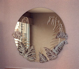 Ikea Bathroom Mirrors Ideas unique mirror with jungle theme ideas quecasita