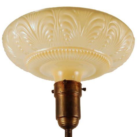 Vintage Torchiere Lamp Shades by Antique Edgar Brandt Torchiere Lighting Art Deco Decor