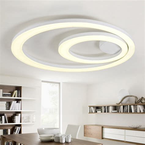led kitchen ceiling lighting fixtures white acrylic led ceiling light fixture flush mount l