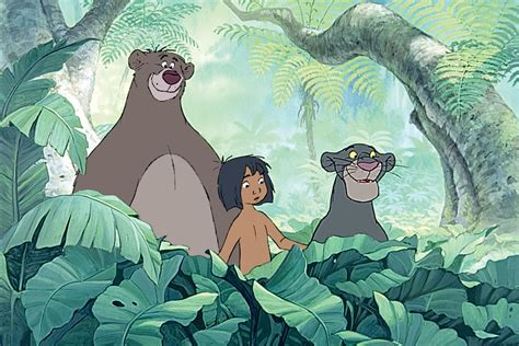 mowgli jungle book pictures ben kingsley to voice bagheera in disney s live