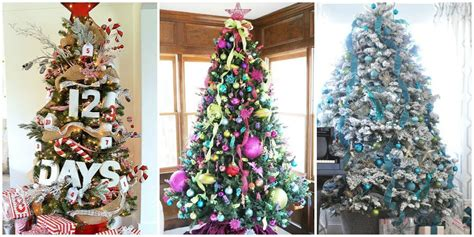 11 awesome and beautiful decorated tree ideas