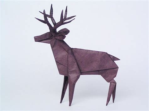 deer origami pin by k fairbanks on by other 1