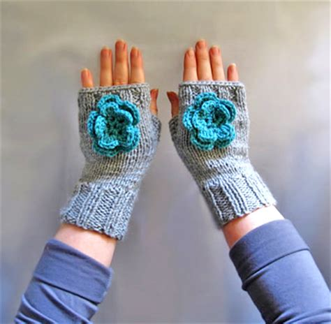 gloves knitting pattern two needles knit fingerless mitts pattern two needles tutorial in pdf