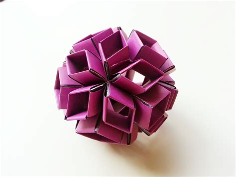 rhombic dodecahedron origami origami code musings