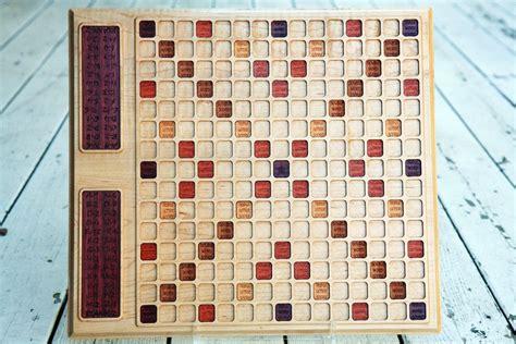 custom scrabble board handmade maple scrabble board by bit beam custommade