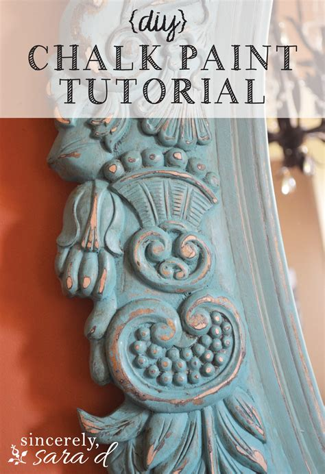 chalk paint tutorial tutorial for distressing aging furniture and mirrors