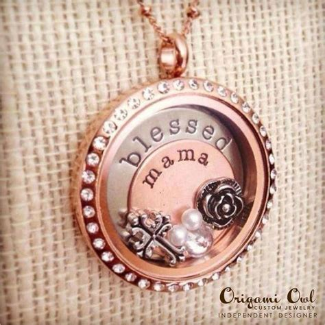 origami necklace and charms 101 best origami owl locket ideas images on