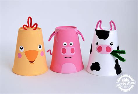 paper cup animals craft 10 awesome crafts for gift of curiosity