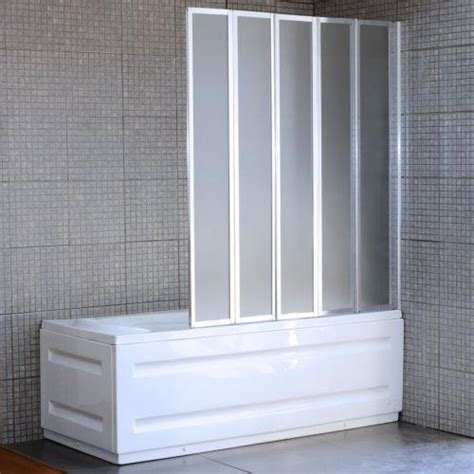 bi fold shower screens bath 4 fold bath screen ebay