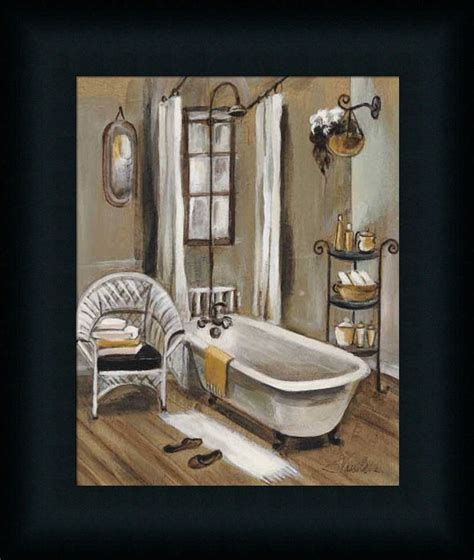 Spa Artwork For Bathrooms by Bath Ii Vassileva Bathroom Spa Framed