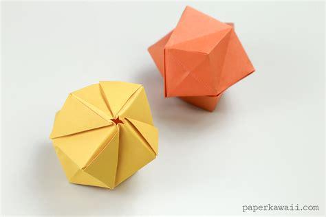 origami stellated octahedron origami stellated octahedron